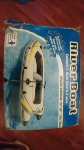2 Person Inflatable River Boat