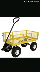 Wagon for sale or swap for wheel barrel