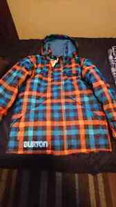 Brand new never worn Burton winter coat