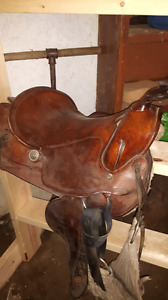 Welsh's Roping Saddle