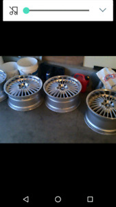 """18"""" staggered BMW Rims"""