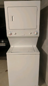 GUC stacked washer and dryer