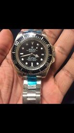 Rolex-sea dweller sweeping movement