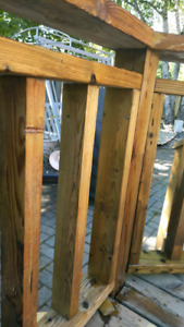Deck and Fence wood cleaning / restoration service