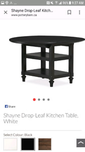 Drop-leaf dining table -Pottery Barn