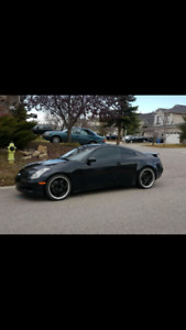 2005 Infiniti g35 coupe rev up edition 6MT