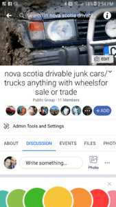Got a junk /truck car anything with wheels