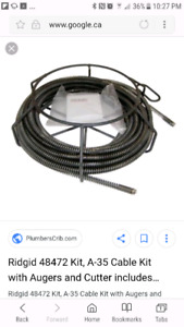 Looking for ridgid k50 cables.