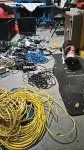Computer cables and wires. Whole lot and more.  Kingston Kingston Area image 5