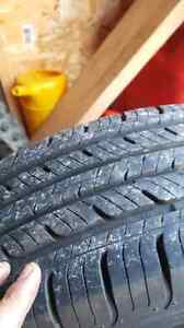 Honda civic alloy with new summer tires 4x100