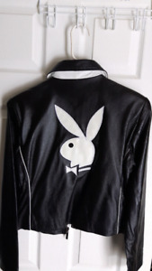 Brand new Playboy Bunny leather jacket