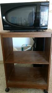 Microwave with stand for sale