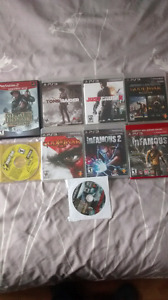 PS3, PS2 and PC games