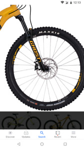Mountain bike tiress wanted