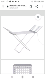 Beldray electric clothes airer
