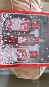New set of three bath and body works gift set