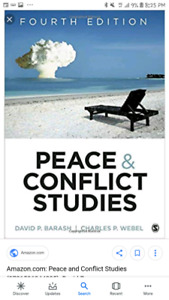 Peace & conflict studies textbook (mcmaster) (great condition)