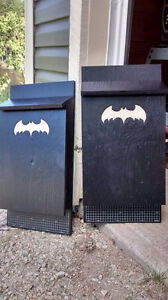 Large Handcrafted Bat Houses