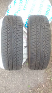 2 General All Season Tires - 185/65/15 - 2 Pneus General