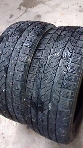 205/55r16 --- 2 winter tires