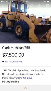 1974 Clark Michigan 75B Wheel loader