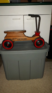 Vintage Radio Flyer riding toy
