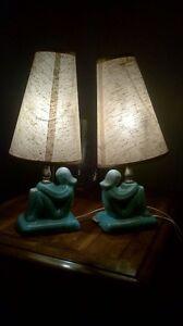 Vintage ceramic bedside lamps Kitchener / Waterloo Kitchener Area image 5