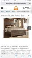 Ashley furniture Queen Bed with pillow top mattress/box