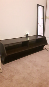 WALL MOUNTED TV OR CONSOLE STAND