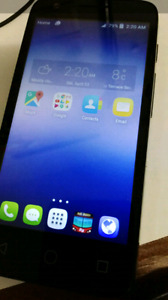 """Alcatel pixi 4 4.5"""" I've used for 1 month only, waiting my order"""