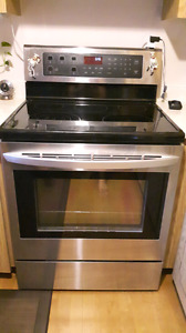 LG self-cleaning stainless steel convection range