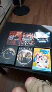 Misc TV shows and WWE wrestling DVDs