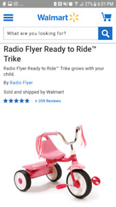 Tricycle/ Toddler Bike