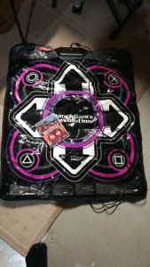 PS3 dance revolution game and mat