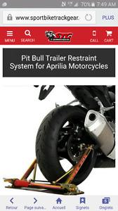 Aprilia pit bull trailer restraint rsv4