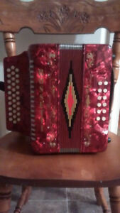ROSSETTI TRIPLE ROW ACCORDIAD
