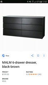 Ikea 6 drawer dresser