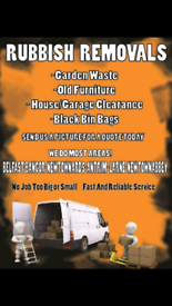 RUBBISH COLLECTION, DUMP RUNS, HOUSE CLEARANCE