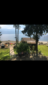 Warterfront Cabin for Rent on Shuswap Lake BC