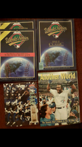 1992 Toronto Blue Jays World Series books