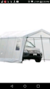 portable garage/ car shelter