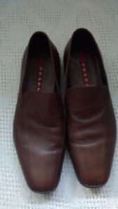 2 pairs PRADA mens shoes & 1 pair Hugo Boss