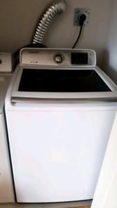 Samsung washer and Maytag dryer