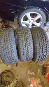 3- 205-55-16 winter tires Nexen Winterguards Kingston Kingston Area image 1