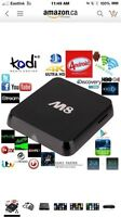 M8 QUAD CORE, KODI ANDROID TV BOX AMLOGIC S802