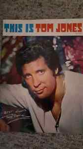 Tom Jones concert program