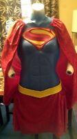 Supergirl Latex Armor Costume.