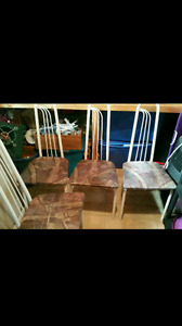 4 chairs - very good condition