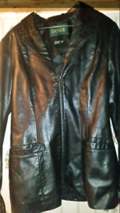 Danier leather coat. 25 bucks!