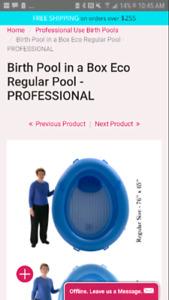 Birth pool in a box brand birth pool